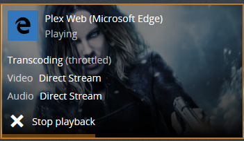 Plex on encrypt acd remote stuck after few minute - question